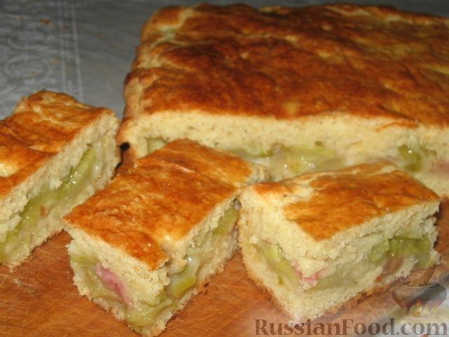 пирог с кусочками мяса рецепт с фото #11