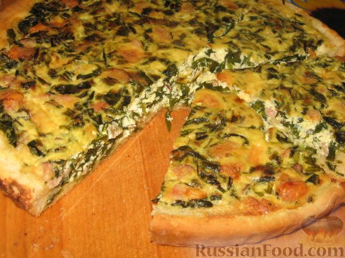 Рецепт Пирог с черемшой