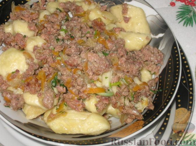 Рецепт Полтавские галушки
