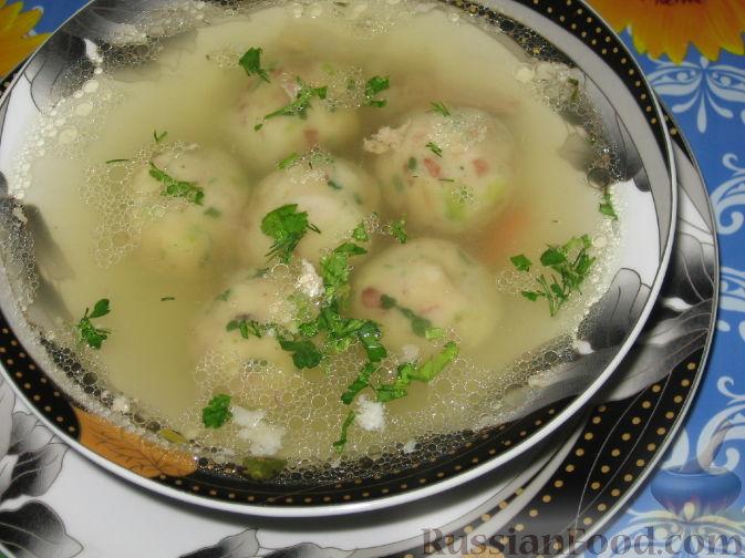 Рецепт Австрийские кнедли для бульона