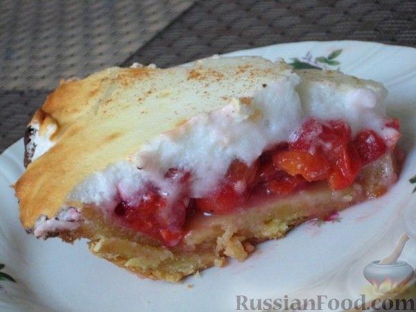 Рецепт Пирог с вишнями по-канадски