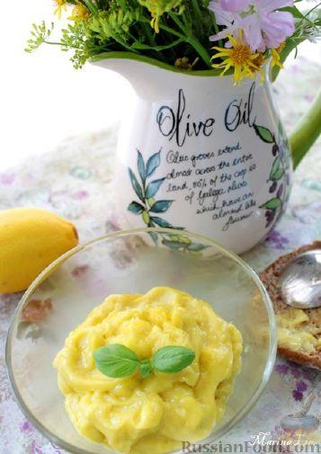 Рецепт Майонез оливково-лимонный