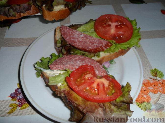 """Рецепт Бутерброд """"Для Меня"""""""