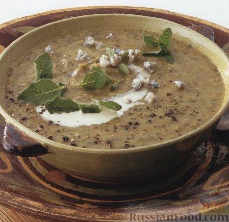 Рецепт Суп-пюре из цуккини с сыром