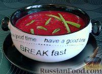 Фото к рецепту: Свекольник постный (суп-пюре)