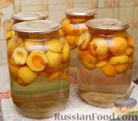 Фото к рецепту: Абрикосовый компот