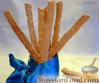 Фото к рецепту: Овсяные палочки с сыром