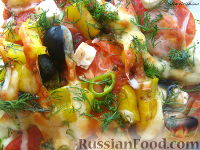 Фото к рецепту: Овощи а-ля рататуй