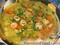 Фото к рецепту: Пестрый суп