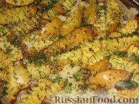 Фото к рецепту: Запеченный молодой картофель