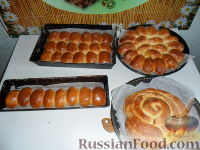 Фото к рецепту: Сдобные пирожки с вишней