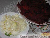 Фото приготовления рецепта: Шпундра (грудинка со свеклой) - шаг №2