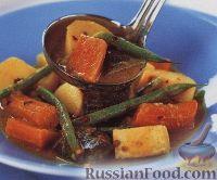 Фото к рецепту: Пряное овощное рагу с кокосовым молоком