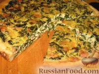 Фото к рецепту: Пирог с черемшой