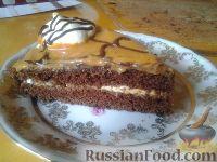 """Фото к рецепту: Торт """"шоколадный праздник"""""""