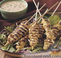 Фото к рецепту: Куриные шашлыки, приготовленные на гриле