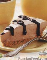 Фото к рецепту: Кофейный торт-мороженое