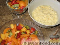 Фото приготовления рецепта: Фруктовый салат с абрикосами - шаг №3