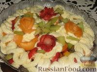 Фото приготовления рецепта: Фруктовый салат с абрикосами - шаг №4