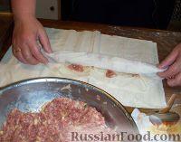 Фото приготовления рецепта: Бурек по-сербски - шаг №3