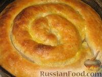 Фото приготовления рецепта: Бурек по-сербски - шаг №12
