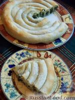 Фото приготовления рецепта: Бурек по-сербски - шаг №14