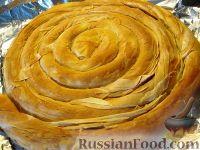 Фото приготовления рецепта: Бурек по-сербски - шаг №16