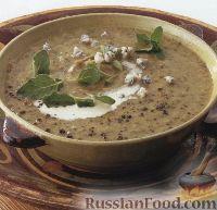 Фото к рецепту: Суп-пюре из цуккини с сыром