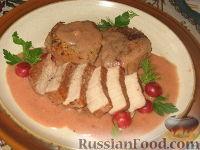 Фото к рецепту: Телятина с вишнями