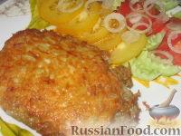 Фото к рецепту: Тилапия в сырно-картофельной корочке