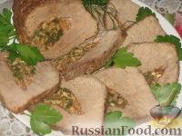Фото к рецепту: Фаршированная свинина
