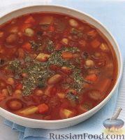 Фото к рецепту: Фасолевый суп с цуккини