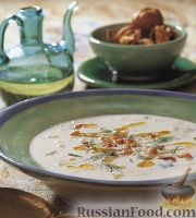 Фото к рецепту: Огуречный суп