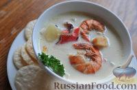 Фото к рецепту: Чаудер - классический морской суп