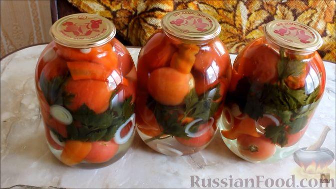 Вкусные консервированные салаты из помидор