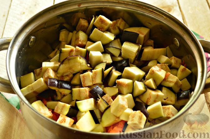 салат из кабачков и баклажанов на зиму рецепты приготовления