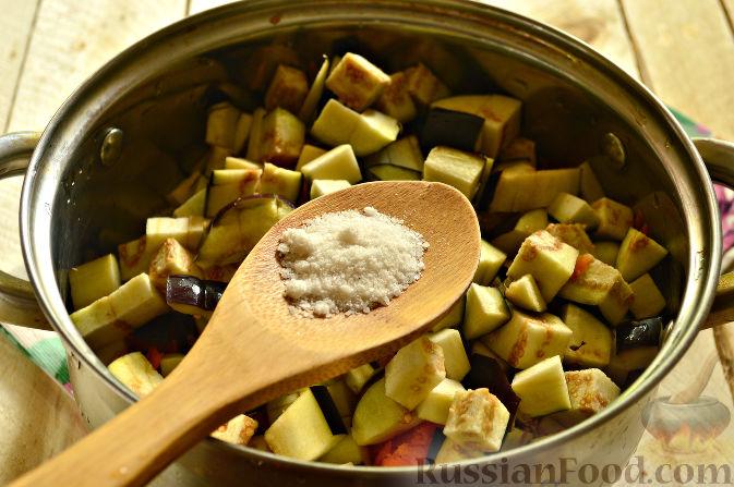 кабачки с баклажанами на зиму рецепты приготовления