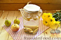 Фото к рецепту: Компот из груш и яблок (на зиму)