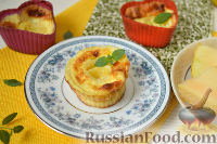 Фото к рецепту: Омлетный десерт c дыней
