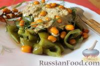 Фото к рецепту: Салат из облепихи и печеного болгарского перца