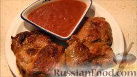 Фото к рецепту: Стейк из свинины с соусом