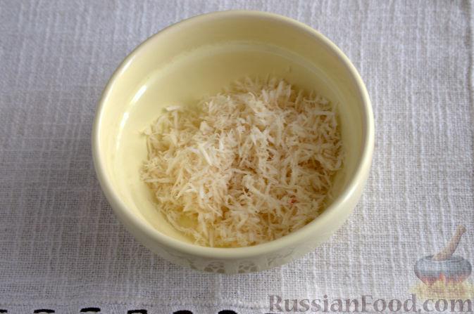 Фото приготовления рецепта: Закуска из свеклы со свежим хреном - шаг №3