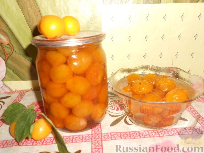 Фото к рецепту: Варенье из желтых слив