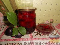 Фото к рецепту: Варенье из сливы-I