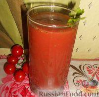 Фото к рецепту: Томатный сок с солью