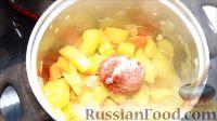 Фото приготовления рецепта: Быстрые закуски в тарталетках - шаг №6