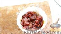 Фото приготовления рецепта: Быстрые закуски в тарталетках - шаг №13