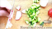 Фото приготовления рецепта: Быстрые закуски в тарталетках - шаг №24