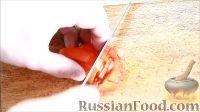 Фото приготовления рецепта: Быстрые закуски в тарталетках - шаг №25