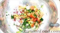 Фото приготовления рецепта: Быстрые закуски в тарталетках - шаг №26